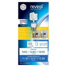 GE Reveal 50/100/150-Watt 3-Way CFL Light Bulb