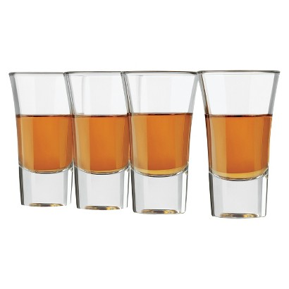 Libbey Shot Glasses Set of 4