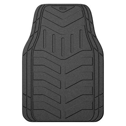 Kraco Black Rubber Automotive Floor Mats 4-pc.
