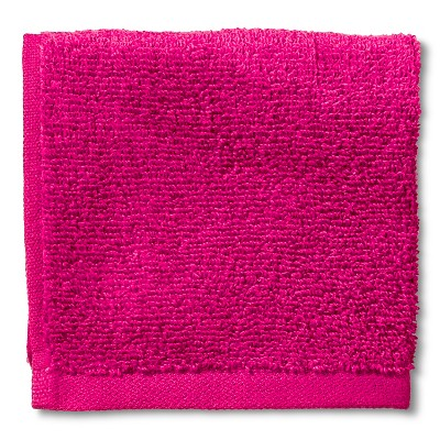 Room Essentials™ Fast Dry Washcloth - Dashing Pink