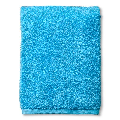 Fast Dry Bath Towel Dark Sky Blue - Room Essentials™