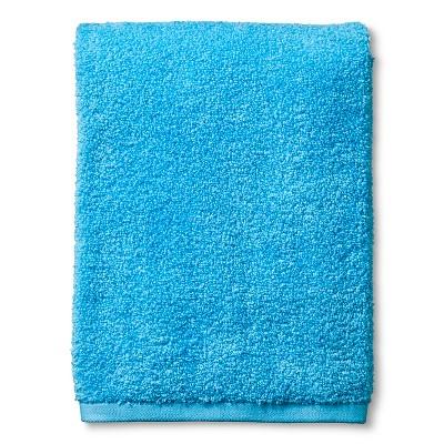 Fast Dry Bath Towel Dark Sky Blue - Room Essentials™