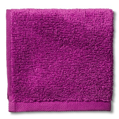Room Essentials™ Fast Dry Washcloth - Berry