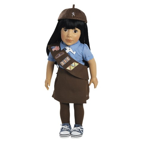 Adora Ava - Girl Scout Brownie 18 Doll