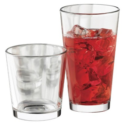 Libbey Clear Flare Tumblers Set of 12