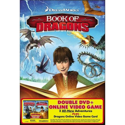 Dragons: Gift of the Night Fury/Book of Dragons (2 Discs) (With Online Video Game) (Widescreen)
