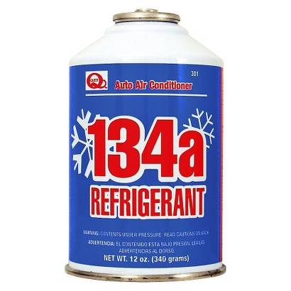 Quest Auto Air Conditioner R134a Refrigerant 12-oz.