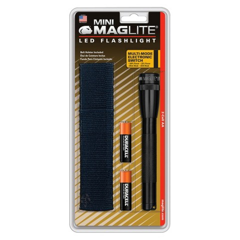 Maglite 2AA LED Flashlight Black