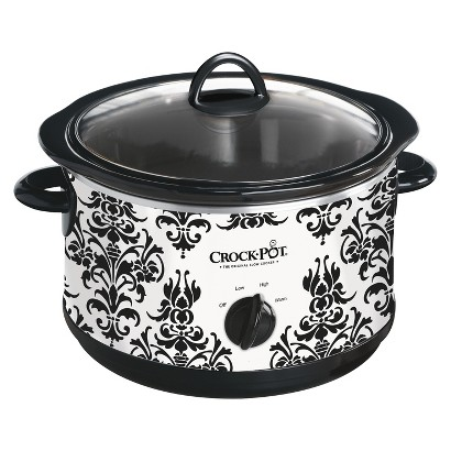 Crock-Pot® Patterned Slow Cooker 4.5-qt.