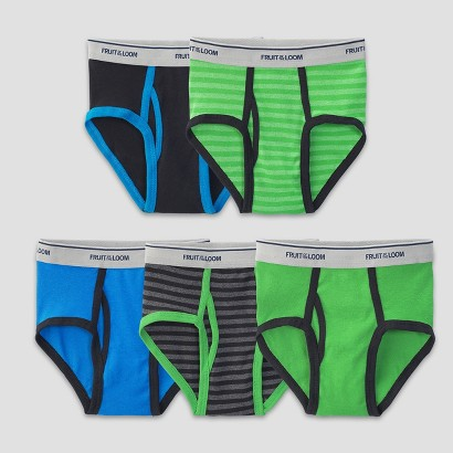Fruit Of The Loom® Boys 5-Pack Fashion Brief -  Assorted