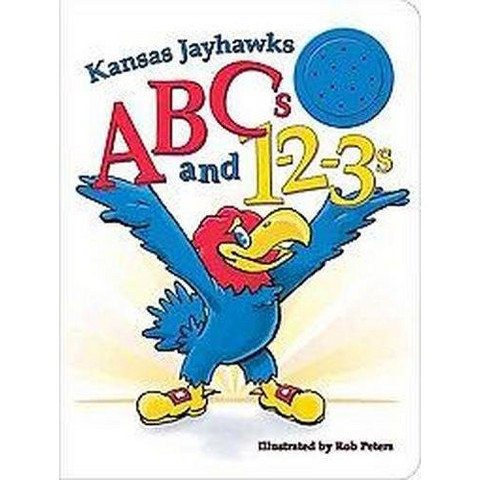 Kansas Jayhawks Abcs and 1-2-3s (Board)