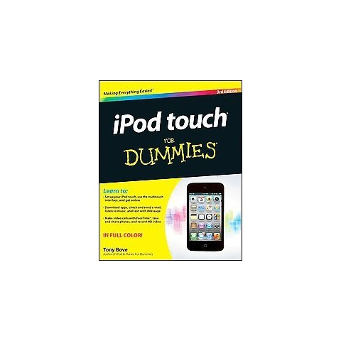 Ipod Touch for Dummies (Paperback)