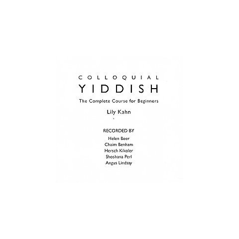 Colloquial Yiddish (Compact Disc)