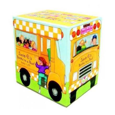 Junie B.'s Books in a Bus! (Paperback)