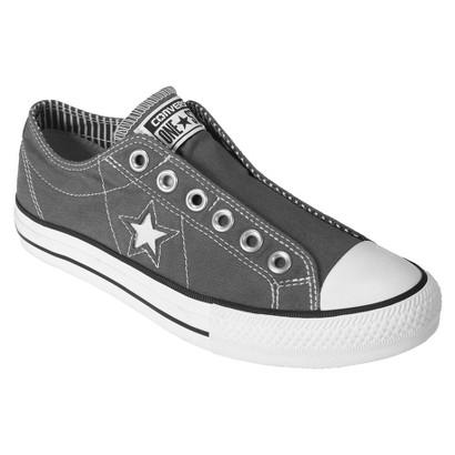 Women's Converse® One Star® Laceless Slip-on - Grey