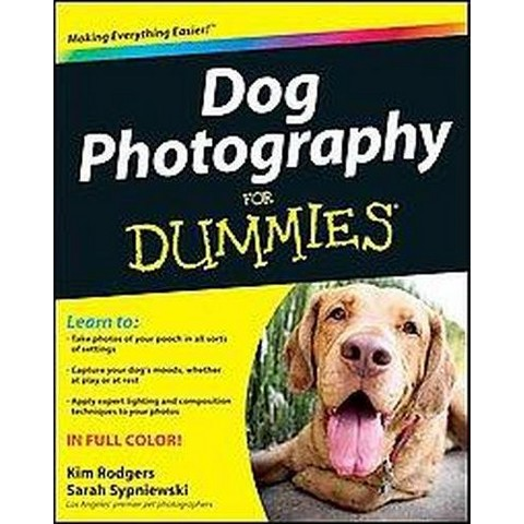 Dog Photography for Dummies (Paperback)