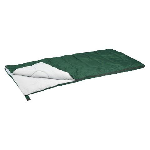 Stansport Rectangular Sleeping Bag - Green (2 lb)