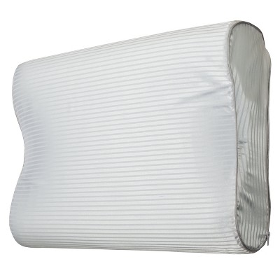 Gel Memory Foam Contour Pillow - White (Standard)