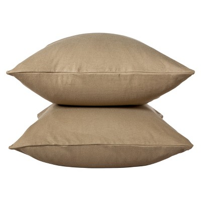 Room Essentials™ Jersey Pillow Case - Tan (Standard)