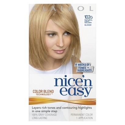 Clairol Nice N Easy Hair Color - Natural Light Golden Blonde