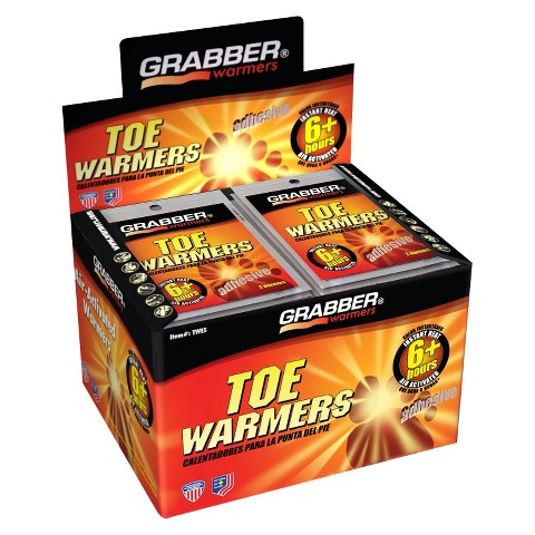 Grabber Toe Warmers - Box of 40 Pairs