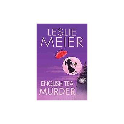 English Tea Murder (Large Print) (Hardcover)