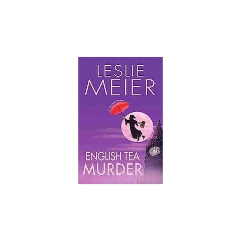 English Tea Murder (Large Print) (Hardcover)