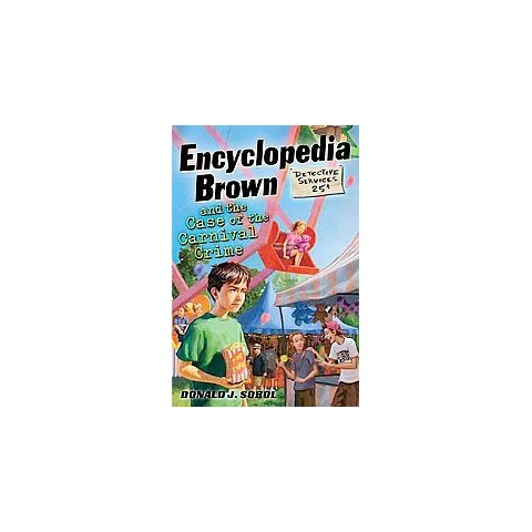 Encyclopedia Brown and the Case of the Carnival Crime (Hardcover)