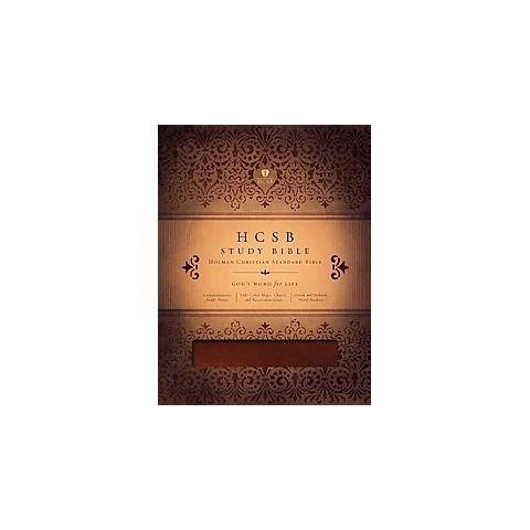 HCSB Study Bible (Paperback)