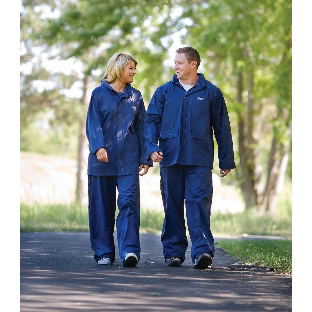 Coleman Rain Suit- Large Blue,  Size: Adult Large