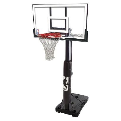 "Spalding/NBA Steel Frame Acrlyic Portable Basketball System - 54"""