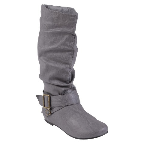 Women's Glaze by Adi Buckle Accent Faux Suede Boots