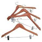 Cedar Garment Skirt Hanger 4Pk