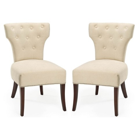 Safavieh Broome Side Chair - Sand (Set of 2)