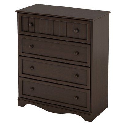 South Shore Savannah 4-Dresser Chest - White