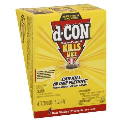 d-Con Mouse Prufell Wedge 1.5 oz