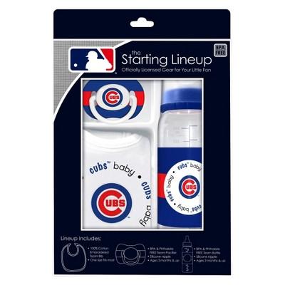 MLB BABY SET S13 3PC TC CUBS