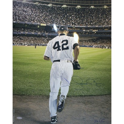 """Mariano Rivera 2006 Entering The Game Color Autographed Photo Signed By Anthony Causi (16""""x20"""")"""