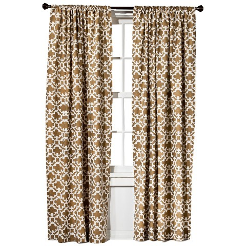 Threshold™ Farrah Fretwork Curtain Panel