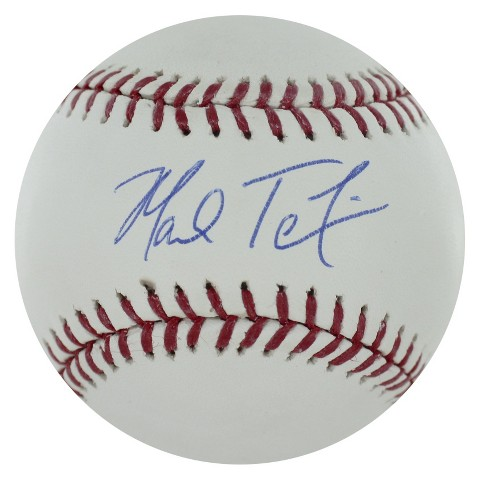 New York Yankees Mark Teixeira Autographed Baseball