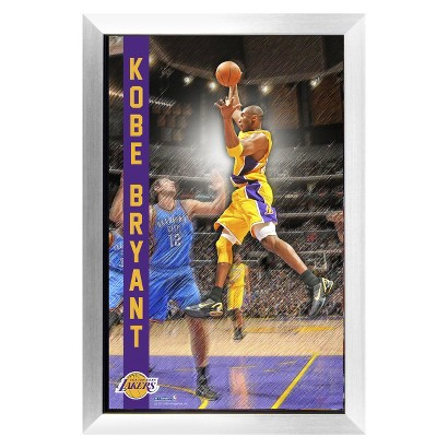 "Steiner Sports Kobe Bryant Los Angeles Lakers Pop Out Framed Collage (20""x32"")"