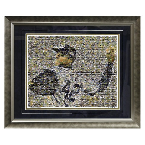 "New York Yankees Mariano Rivera Mosaic Limited Edition Framed Photograph (20""x24"")"