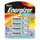 Energizer Advanced Lithium AA Batteries 8 Count (EA91BP-8)
