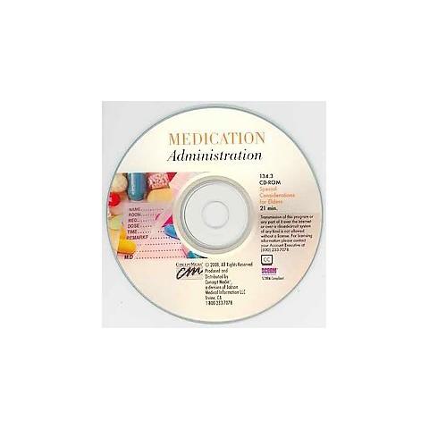 Medication Administration (CD-ROM)