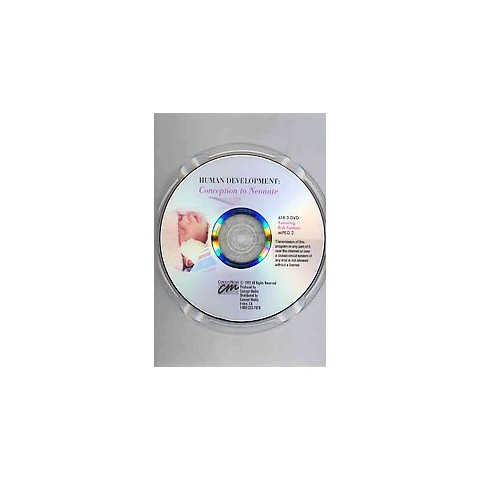Human Development: Conception to Neonate (DVD)