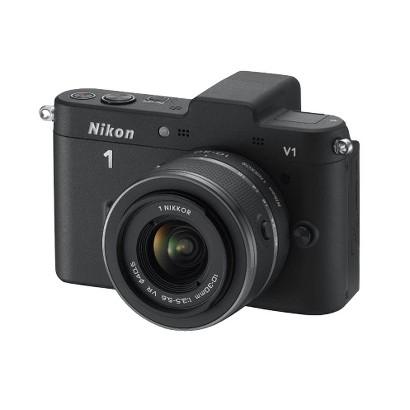 Nikon 1 V1 10.1MP Digital Camera with 10-30mm VR Lens - Black