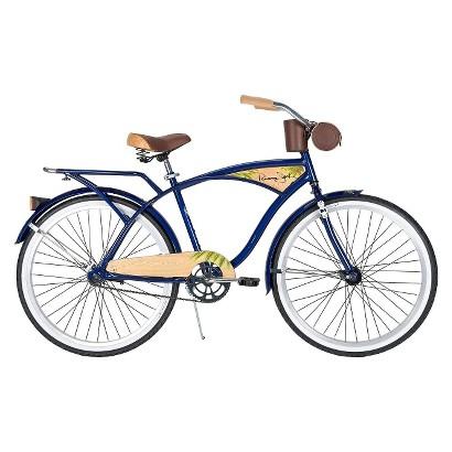 "Huffy Panama Jack 26"" Mens Cruiser Bike - Dark Blue"