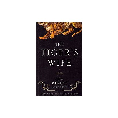 The Tiger's Wife (Large Print) (Paperback)