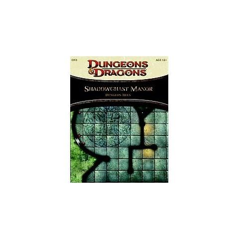 Shadowghast Manor Dungeon Tiles (Hardcover)