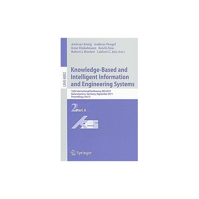 Knowledge-based and Intelligent Information and Engineering Systems (Paperback)